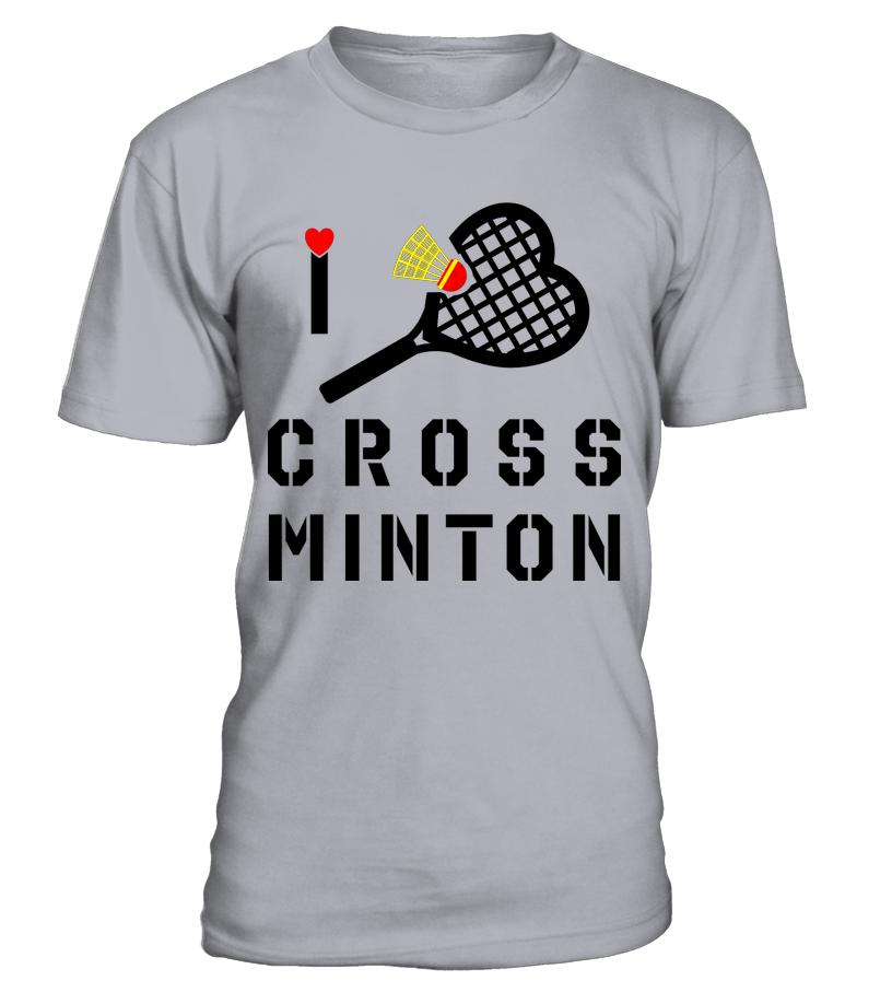 I love crossminton t shirt crossminton tv for Cross counter tv shirts