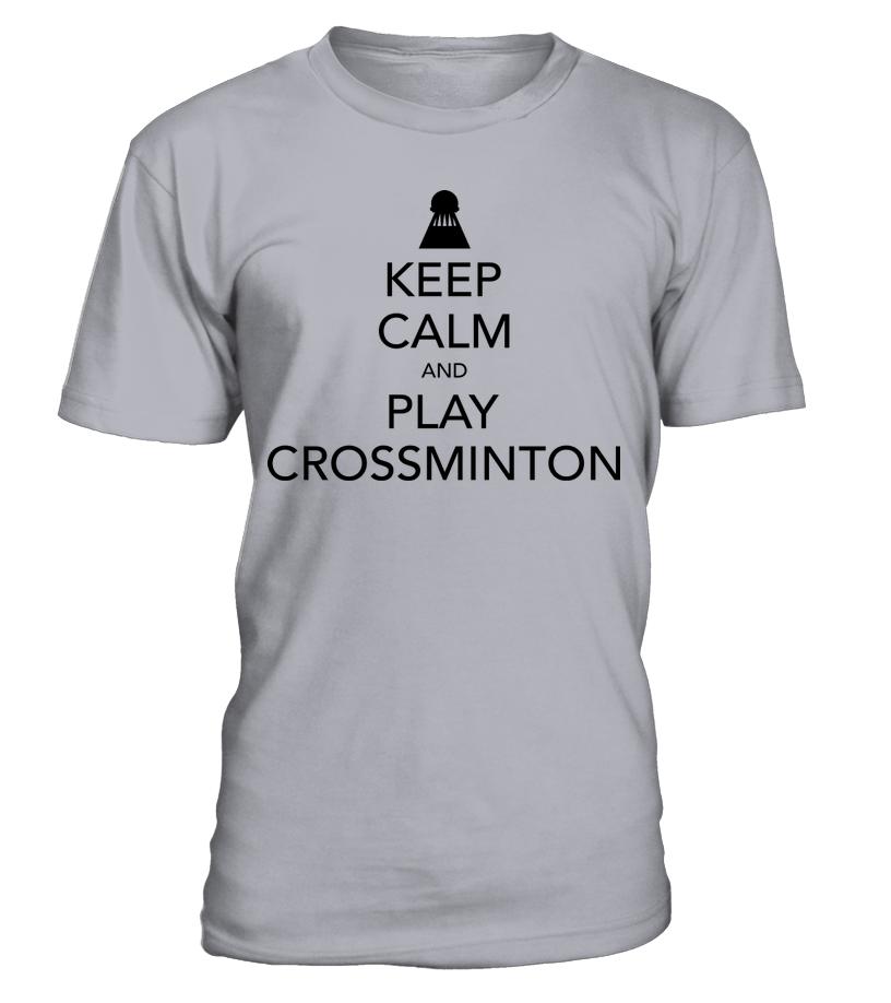 Keep calm t shirt crossminton tv for Cross counter tv shirts